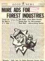Highlight for album: Forest Products Ads 1943